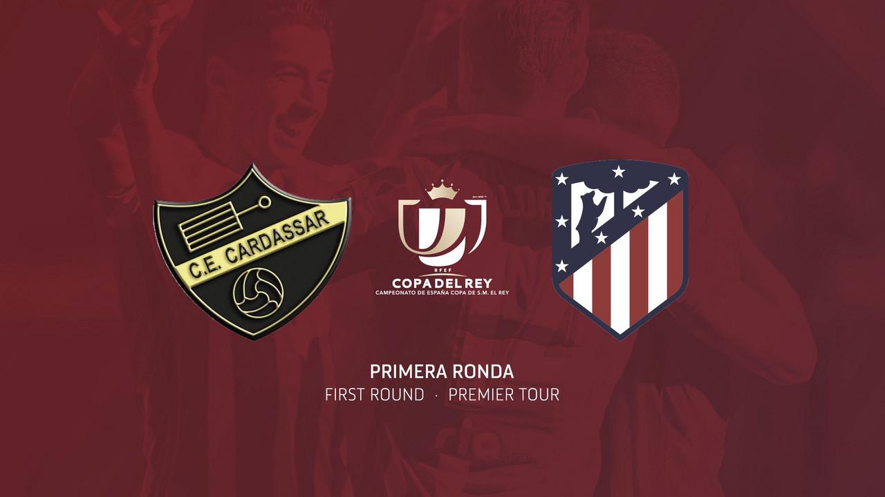 El Cardassar, primer rival de Copa del Rey para el Atlético de Madrid