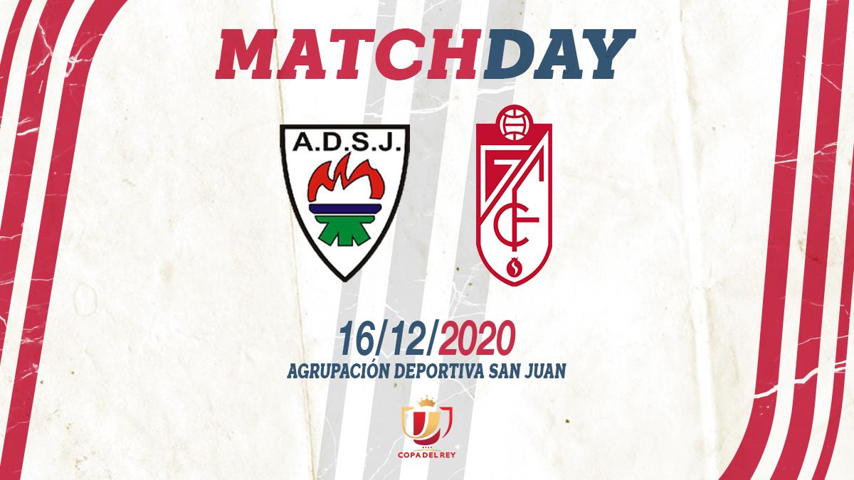El Granada CF visitará al San Juan en la primera eliminatoria copera