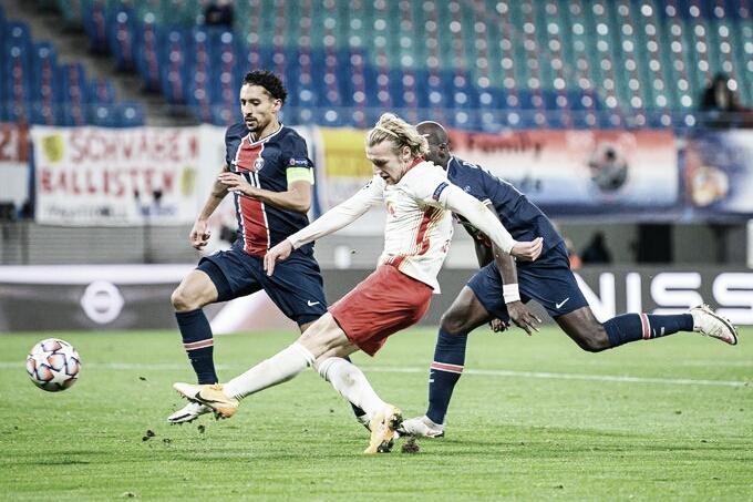 Gol e melhores momentos para PSG 1x0 RB Leipzig pela Champions League