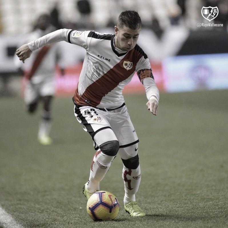 Mario Suárez, en contra de vender a Embarba