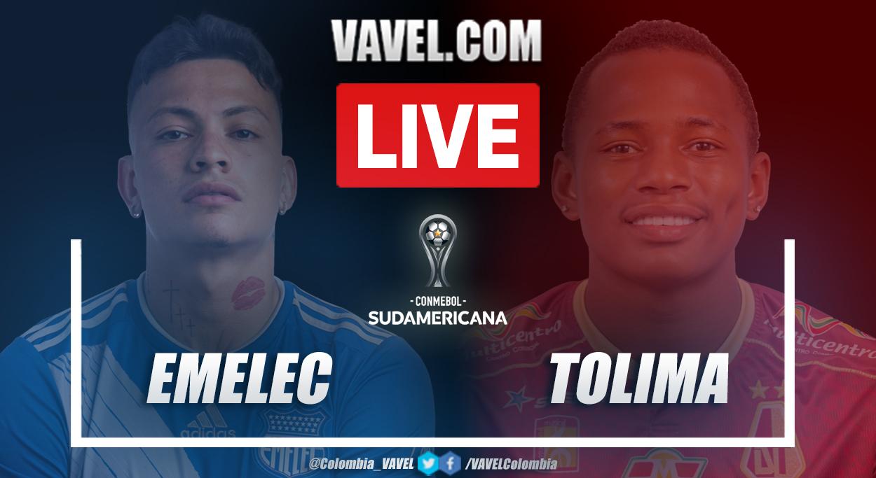 Resumen Emelec vs Tolima (2-0) en la fecha 5 del grupo G por Copa Sudamericana 2021