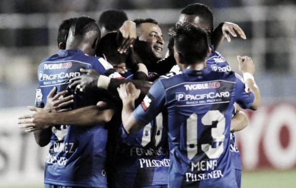 Emelec, rival de Nacional en los octavos de final en la Copa Libertadores