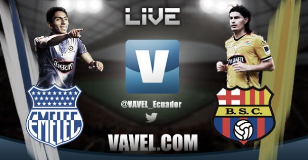 Resultado Emelec vs Barcelona en vivo online en la vuelta de la final de la Serie A 2014