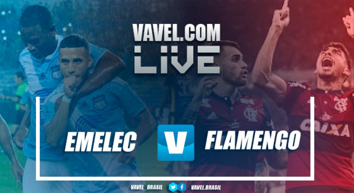Flamengo vence o Emelec pela Taça Libertadores 2018 (2-0)