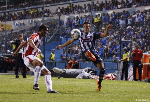 Resultado River Plate de Montevideo - Emelec en Copa Libertadores 2014 (1-1)