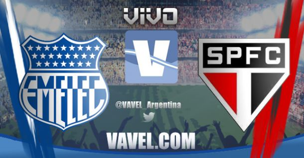 Resultado Emelec - Sao Paulo por la Copa Sudamericana 2014