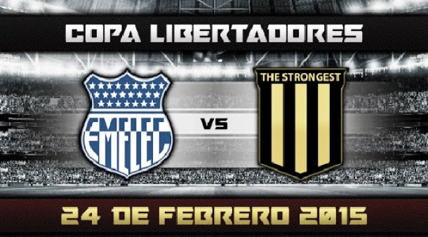 Resultado Emelec vs The Strongest (3-0)