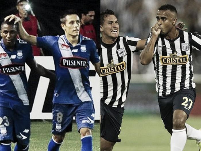 Emelec - Alianza Lima: Primer round de práctica en zona norteña
