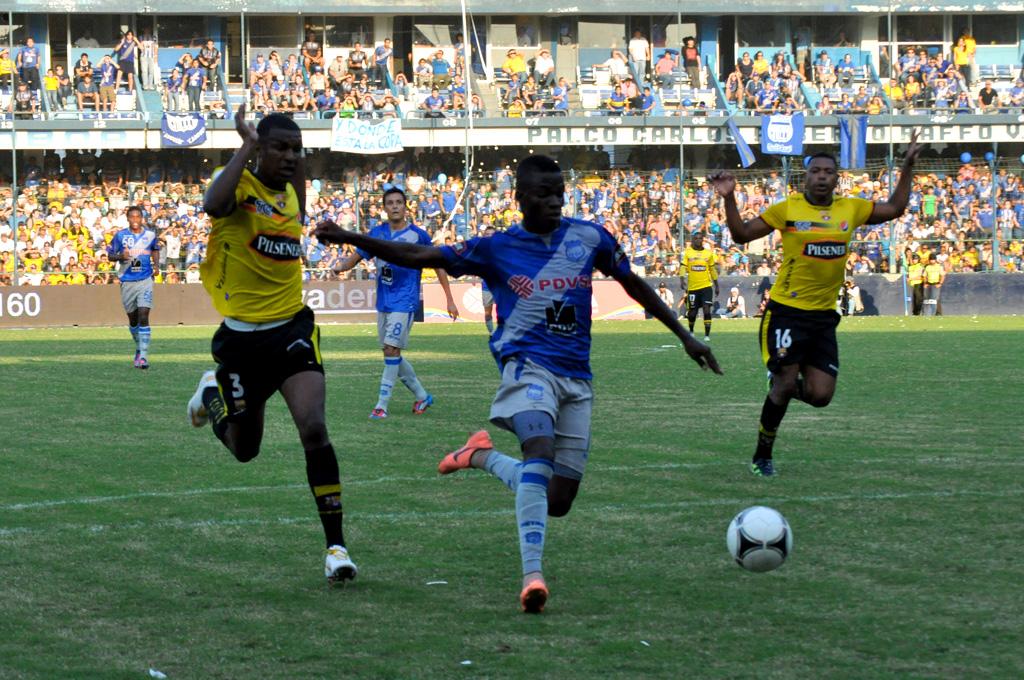De momento, Nacional de Uruguay es el rival de Emelec en Copa Libertadores