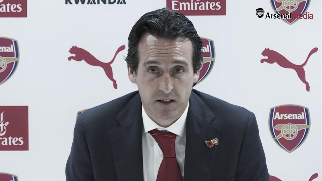 """Emery: """"Creo que este momento es bueno para jugar ante el Tottenham"""""""