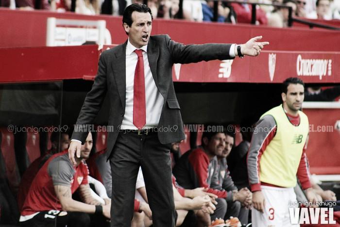 """Emery: """"Reyes y Spahic no se hablaban cuando llegué a la capital hispalense"""""""