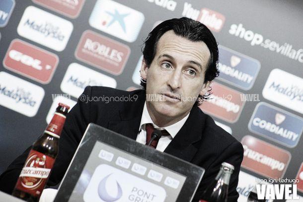 """Emery: """"A nosotros todavía nos falta hacer equipo"""""""