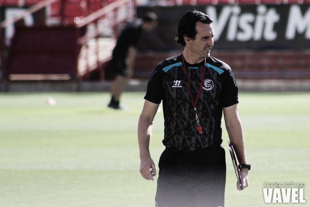 """Emery: """"Trabajo como si fuera a quedarme toda la vida en el Sevilla"""""""