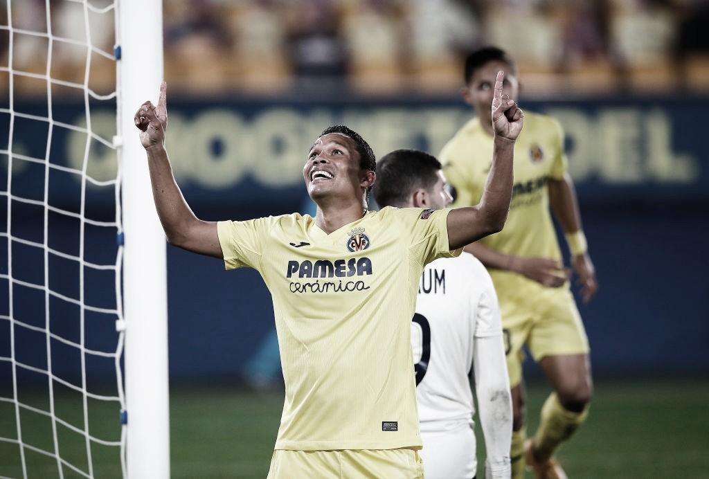 Carloscelebra su gol / Foto: Europa League