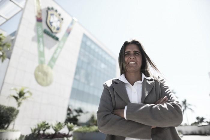 Emily Lima é a nova treinadora da Seleção Brasileira Feminina