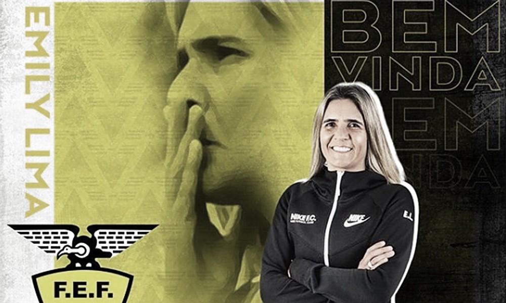 Ex-treinadora da Seleção Brasileira, Emily Lima é oficializada no Equador