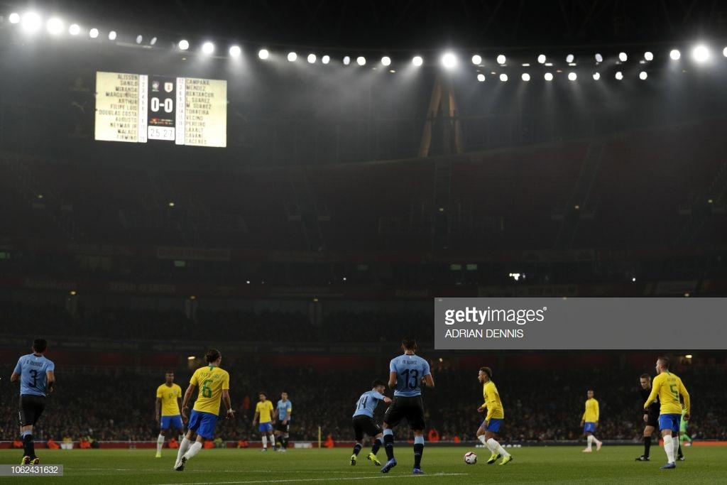 Brazil 1-0 Uruguay: The Samba Stars of Brazil narrowly defeat Uruguay