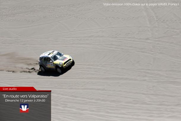 """EN DIRECT à 20h30 : Dakar 2014, 7e étape : """"En route vers Valparaiso"""""""