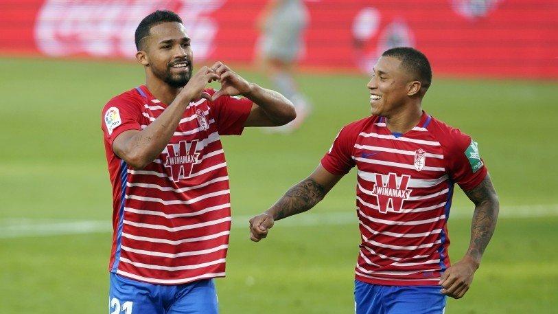 Yangel Herrera y Darwin Machís han tenido un buen comienzo de campaña | Foto: Pepe Villoslada / Granada CF