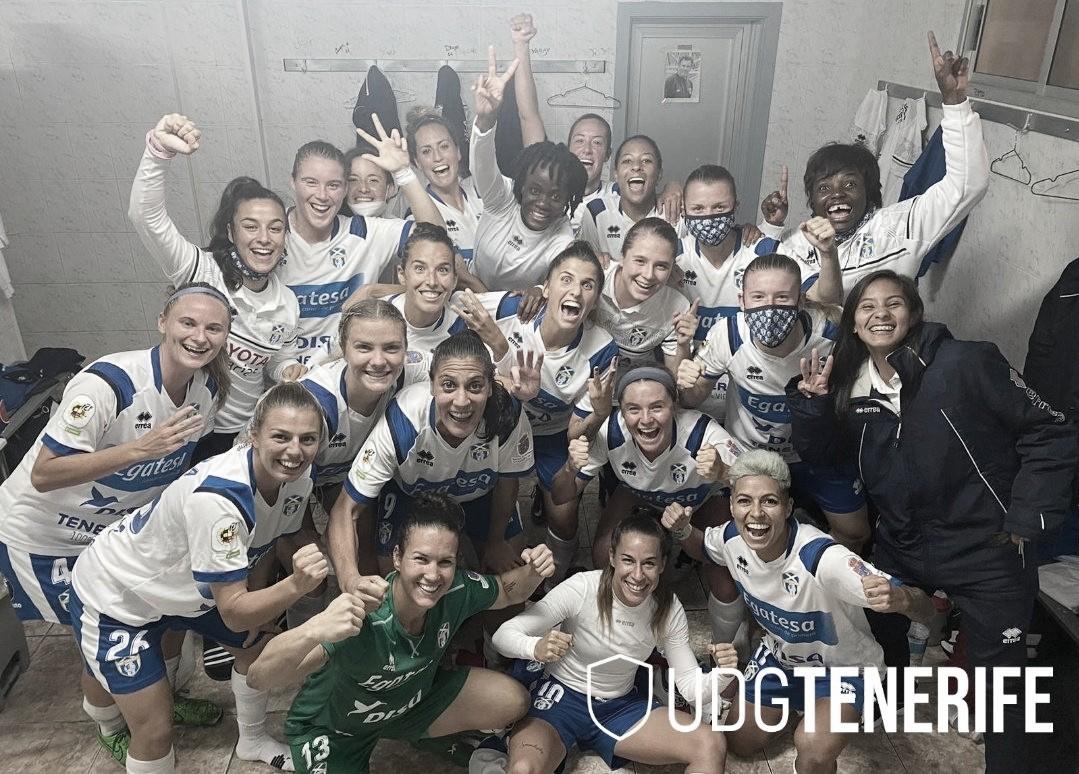 La UD Granadilla Tenerife hace historia y es líder (2-1)