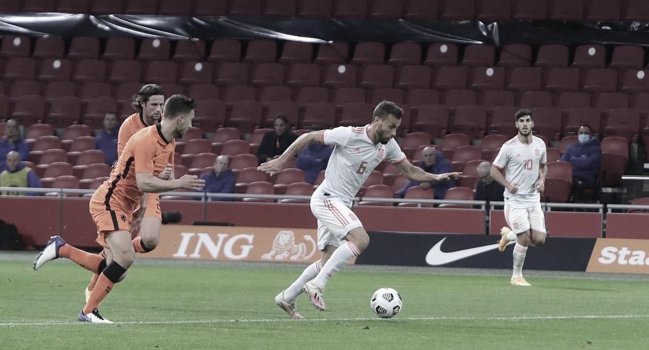 España empató 1-1 ante Países Bajos en Ámsterdam | Fotografía: Sefutbol