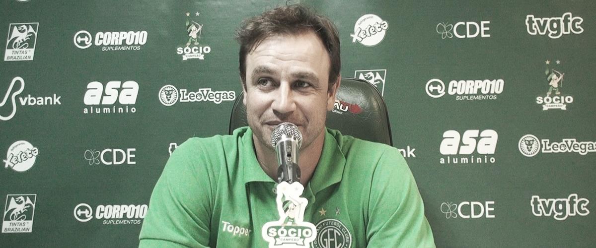 """Felipe Conceição comemora vitória do Guarani e destaca: """"Foi a melhor partida"""""""