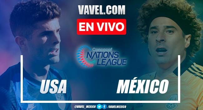 Goles y Resumen del México 2-3 Estados Unidos de la Gran Final Liga de Naciones CONCACAF