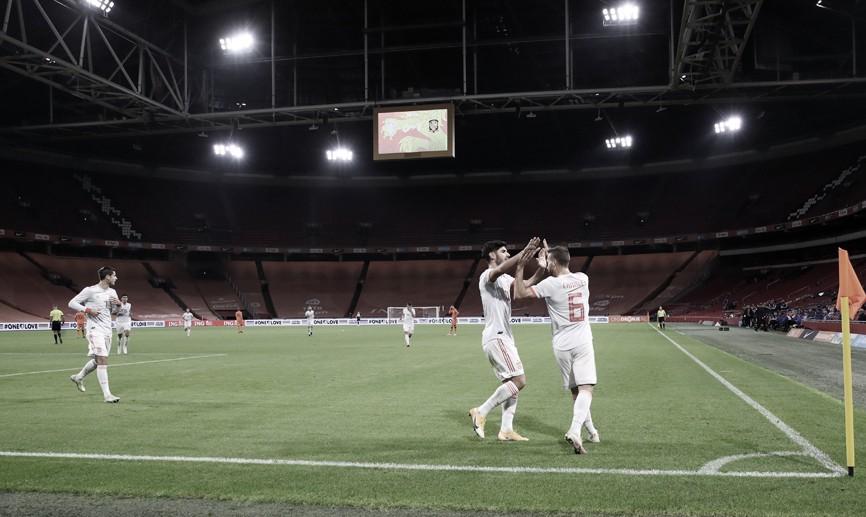 La selección española consiguió un empate ante Países Bajos (1-1) | Foto: @SeFutbol