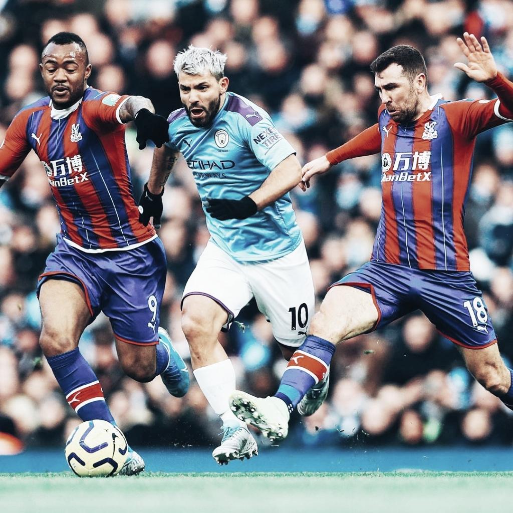 City empata com Crystal Palace e pode ficar 16 pontos atrás do Liverpool