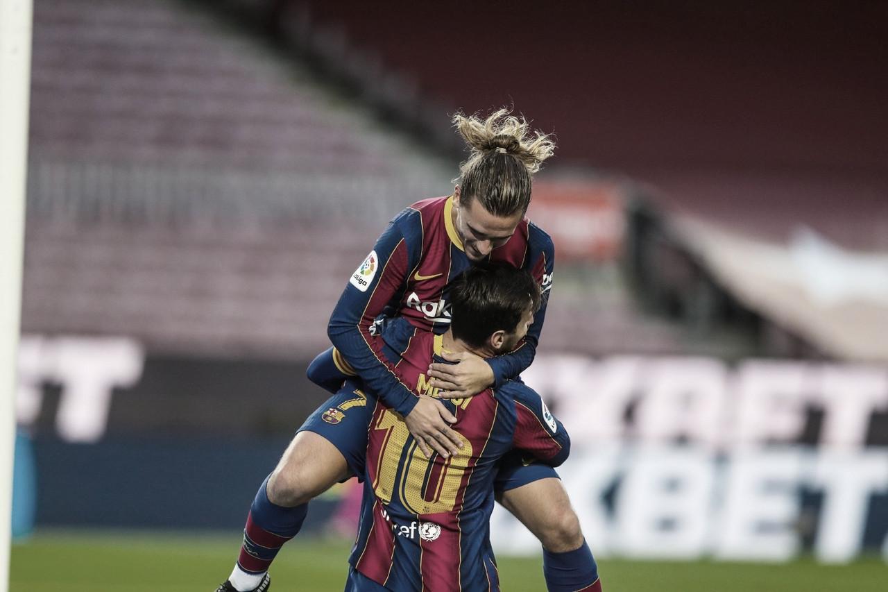 Messi vuelve a ser la solución