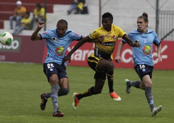 Empate sin goles entre Macará y Barcelona