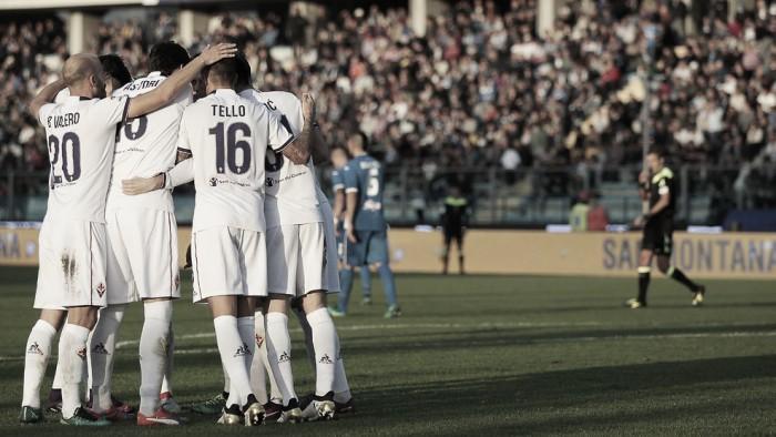 Com dois de Bernardeschi e Ilicic, Fiorentina atropela Empoli no dérbi da Toscana