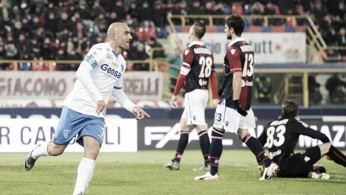 Serie A - L'Empoli alla ricerca di punti salvezza contro il Bologna