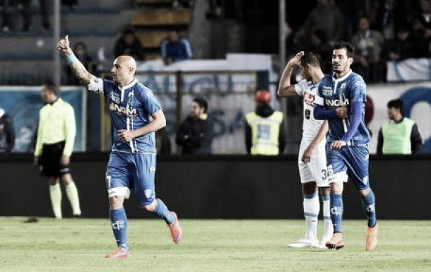 L'Empoli prepara la sfida contro il Napoli