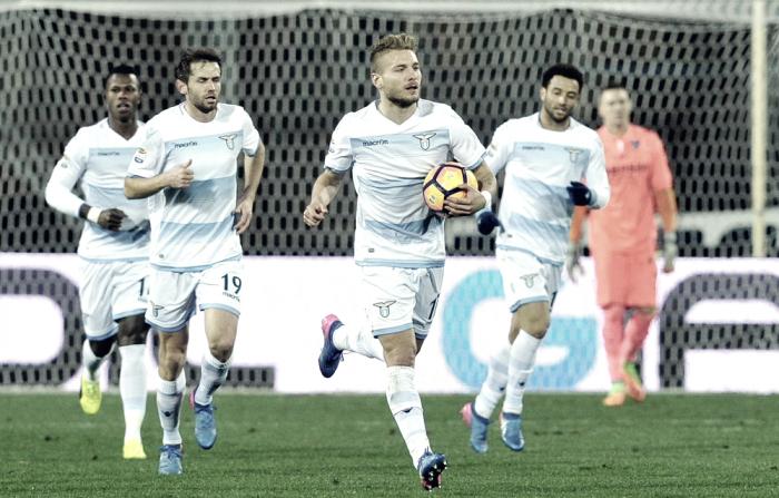 Serie A - La Lazio spreca tanto, poi Krunic la sveglia: Immobile e Keita schiantano l'Empoli (1-2)