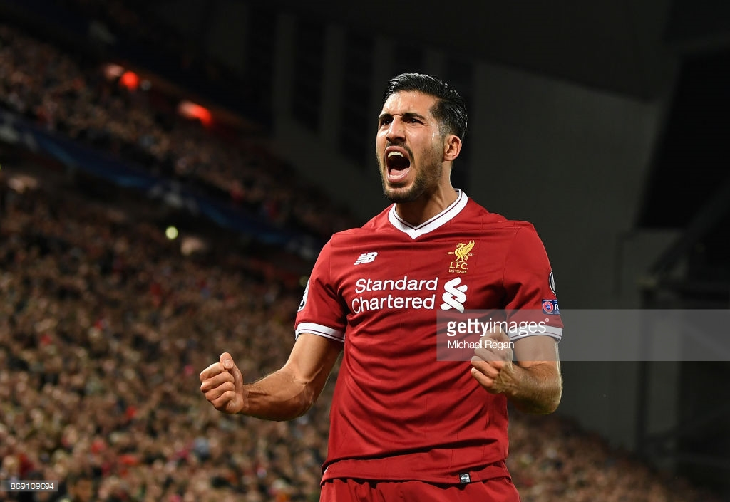 Emre Can to leave Liverpool afterfour-year spell