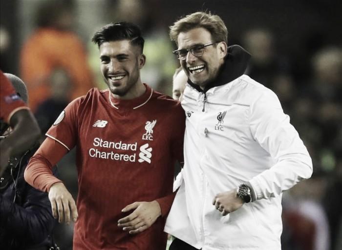 Emre Can hails progress Liverpool have made under Jürgen Klopp