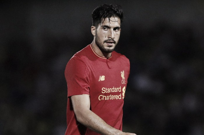 Liverpool midfielder Emre Can back in training ahead of Chelsea clash