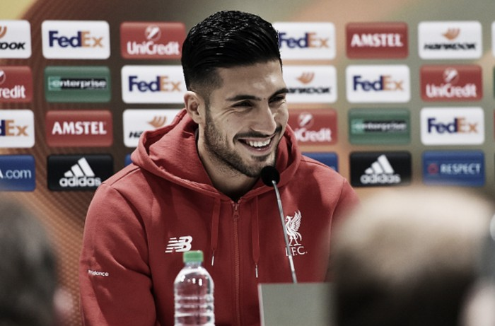 I've warned my Liverpool teammates not to underestimate Augsburg, says Emre Can