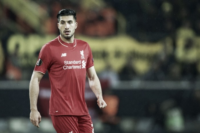 Liverpool open contract talks with Emre Can in bid to tie German down to new long-term deal