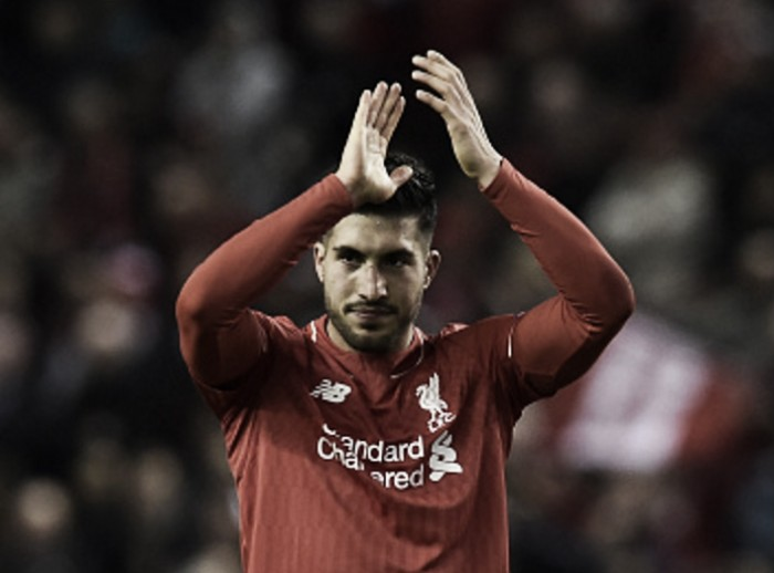 Liverpool have to play to win the game in Manchester United second-leg, insists Emre Can
