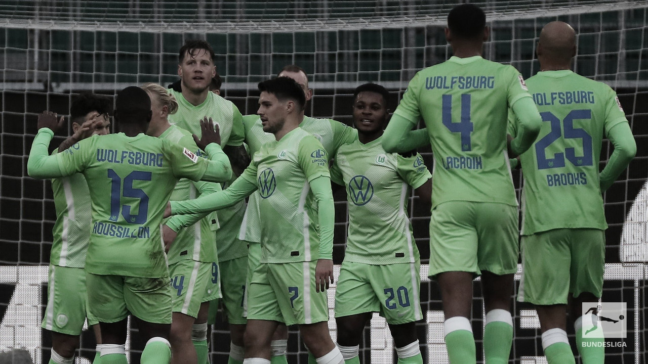 Victoria del Wolfsburgo en elvolkswagen arena / Foto: Bundesliga English