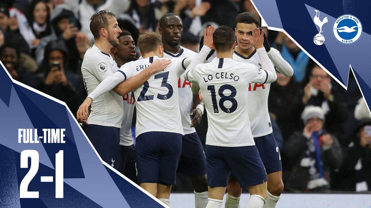 Boxing Day 2019: il Tottenham supera di rimonta un arcigno Brighton (2-1)