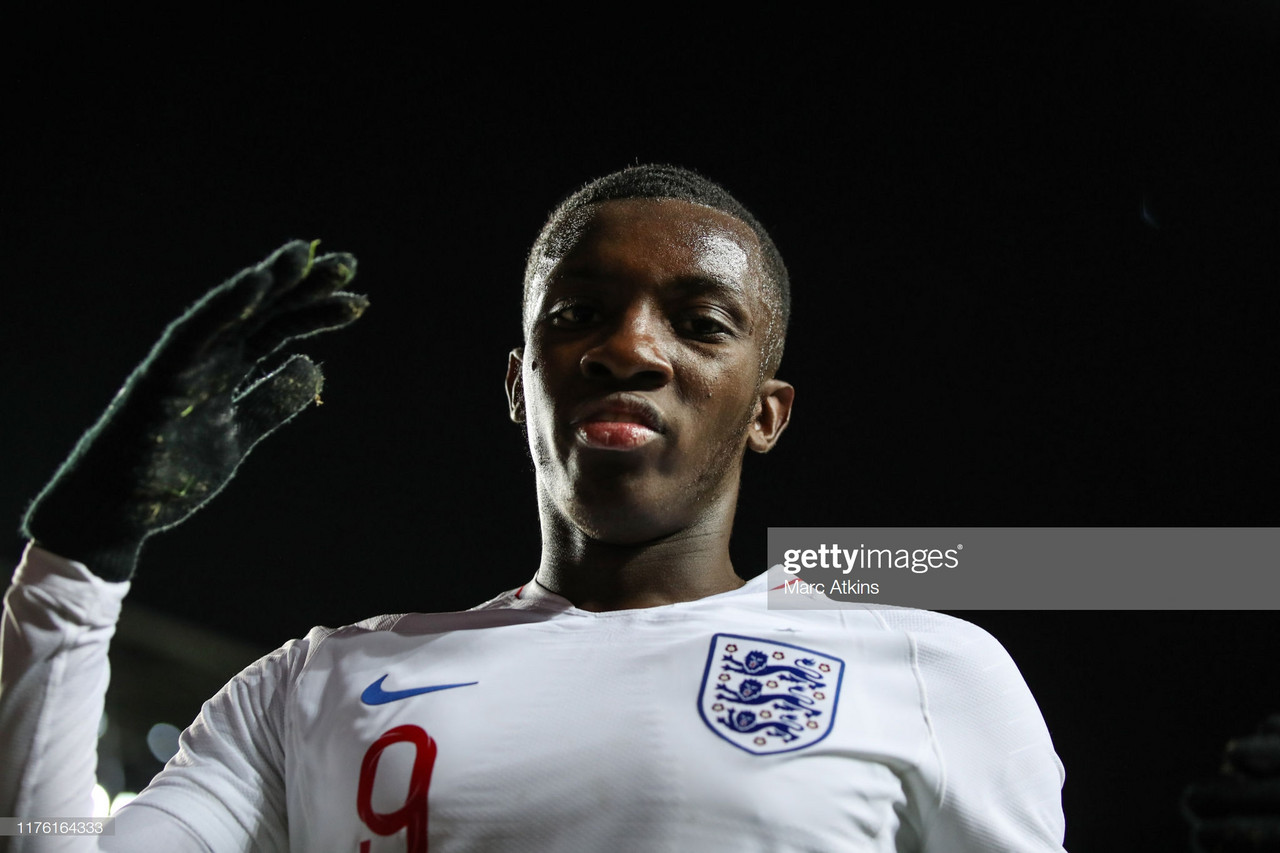 Nketiah makes claim for more playing time with hat-trick