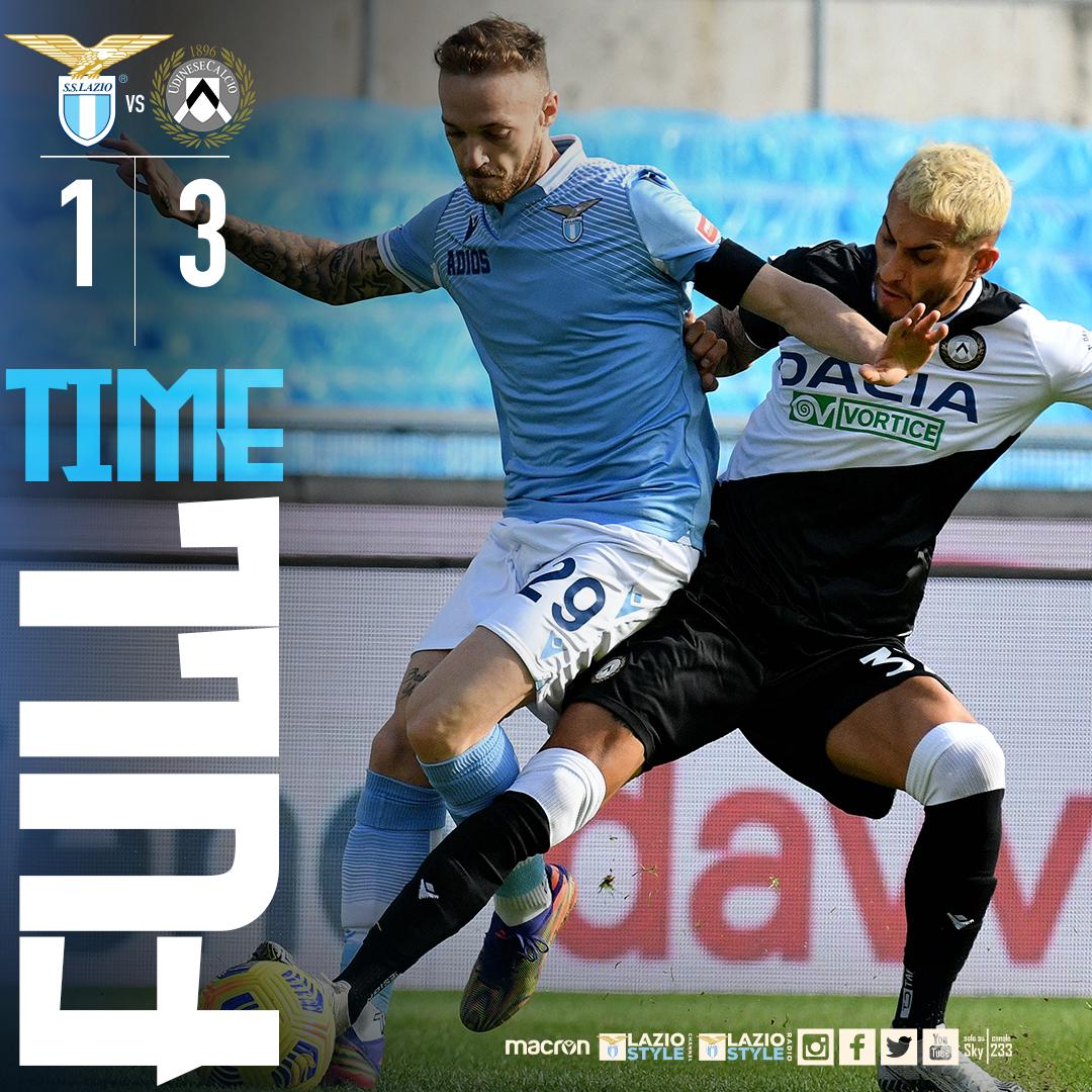 La Lazio crolla in casa: l'Udinese vince 1-3 grazie a un super Pereyra