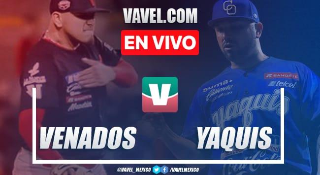 Resumen y carreras Venados Mazatlán 4-3 Yaquis Ciudad Obregón en Juego 5 LMP Semifinal 2020