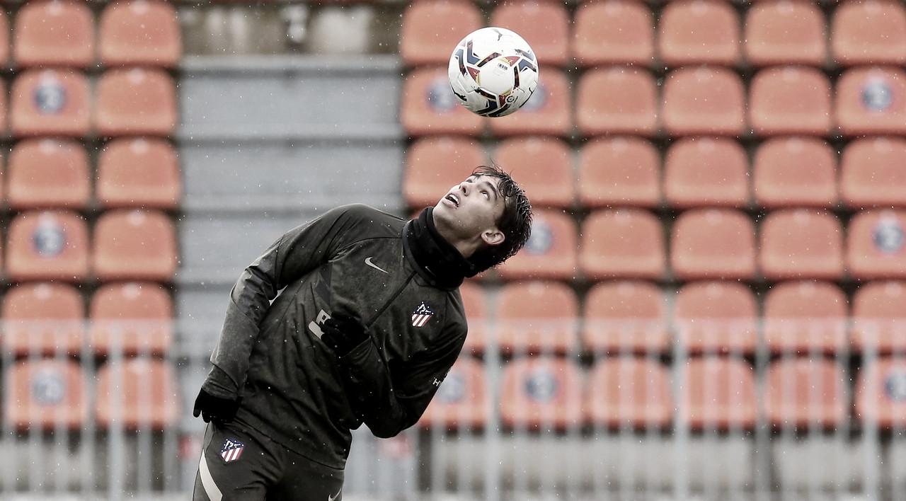 Joao Félix durante los entrenamientos del Atlético de Madrid. / Twitter: Atlético de Madrid