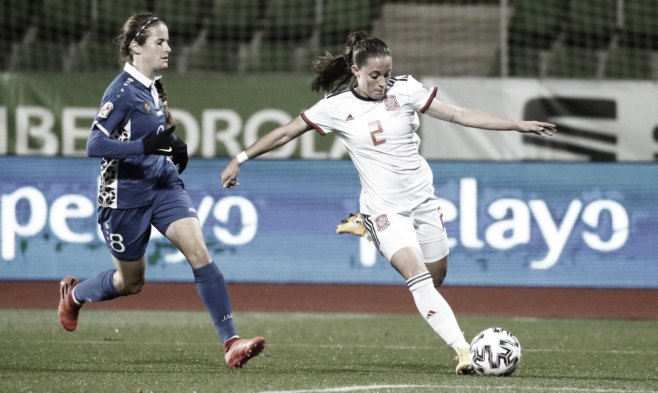 Hat-trick de Jenni Hermoso para acercarse a la Eurocopa