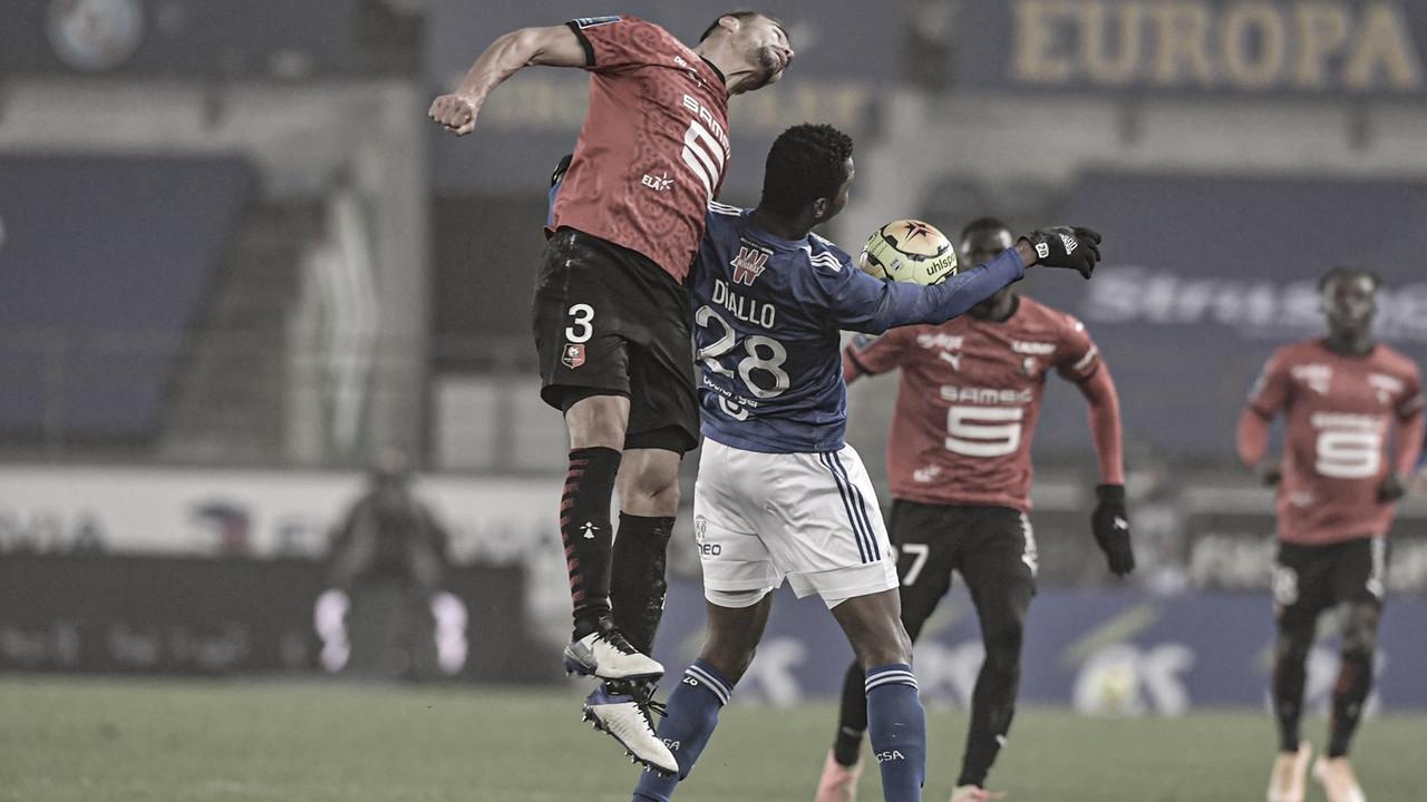 Na abertura da rodada, Strasbourg empata com Rennes e ambos seguem com sequência negativa