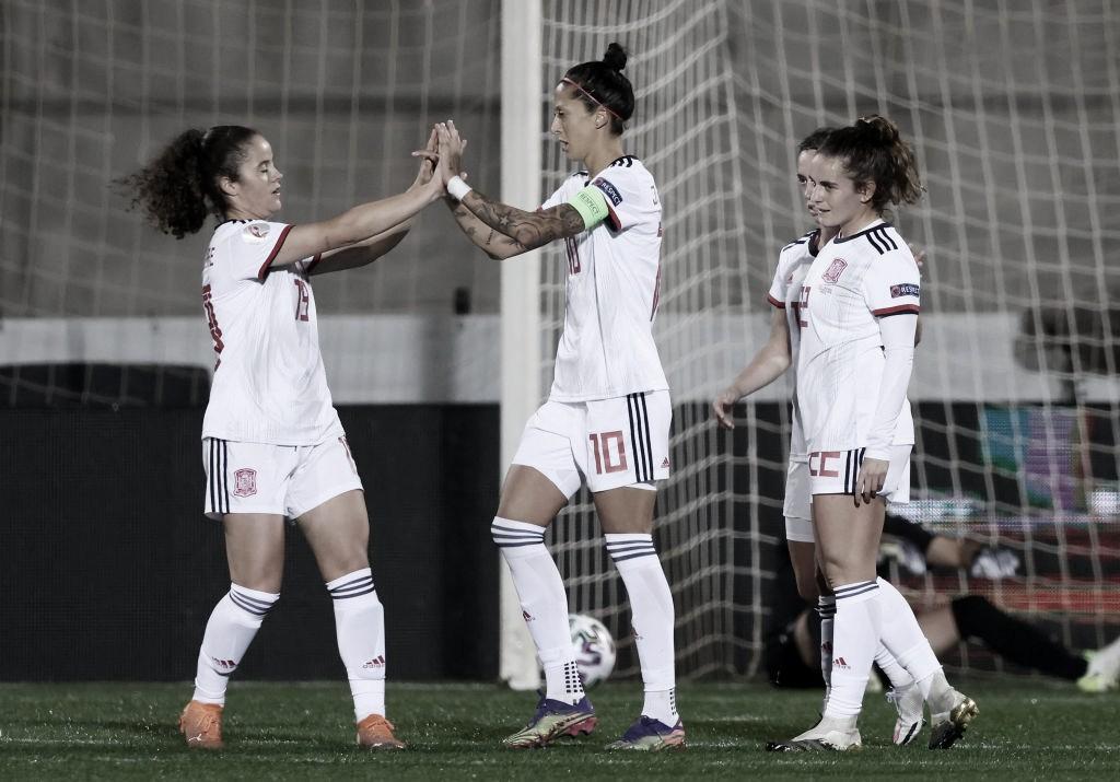 Jenni Hermoso, la nueva máxima goleadora histórica de 'La Roja'